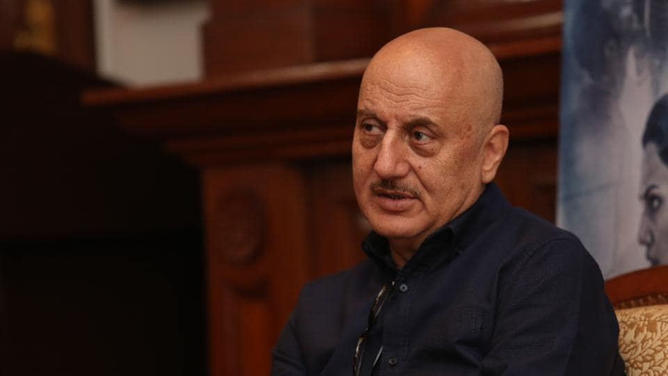 Actor Anupam Kher is shooting for his 511th film in Ranchi, Jharkhand.