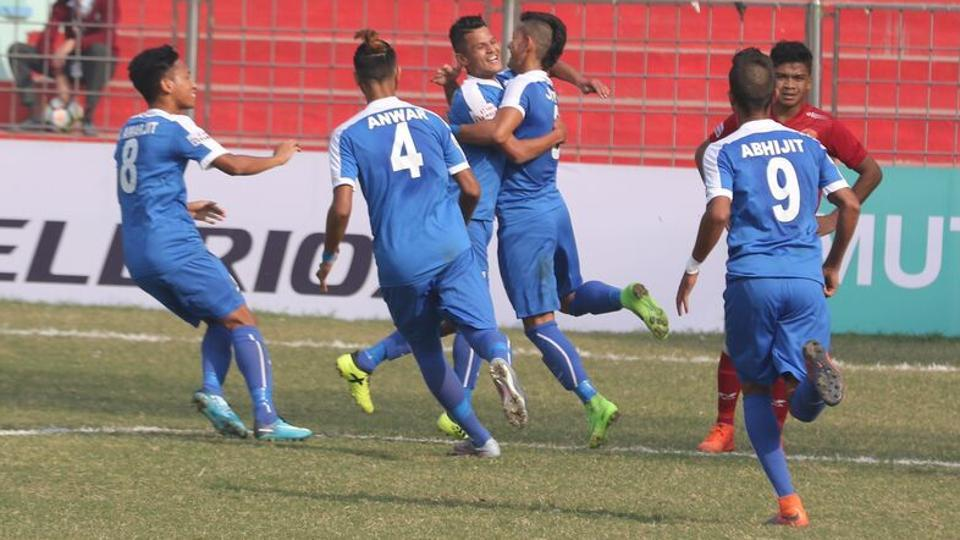 The Indian Arrows beat last year's I-League runners-up 3-0 at the Ambedkar Stadium in New Delhi, registering their second win of the season in the process.