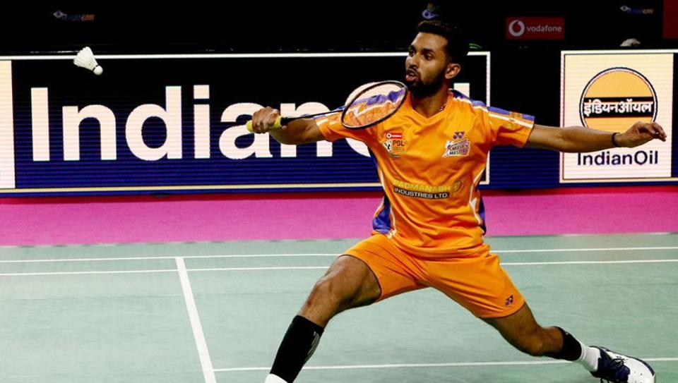 HS Prannoy,Ahmedabad Smash Masters,North Eastern Warriors