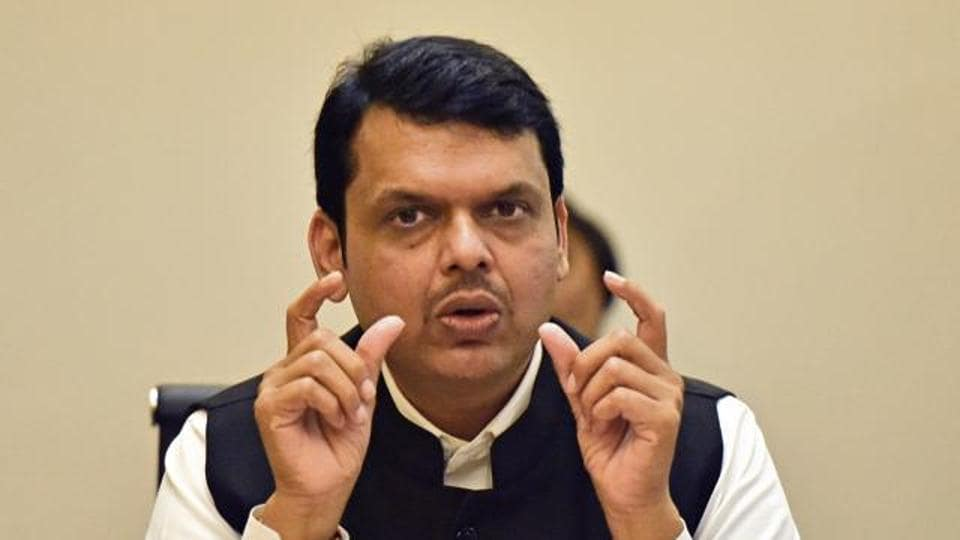 The chief minister's year began with uncertainty over his future following massive Maratha community protest marches held across Maharashtra.