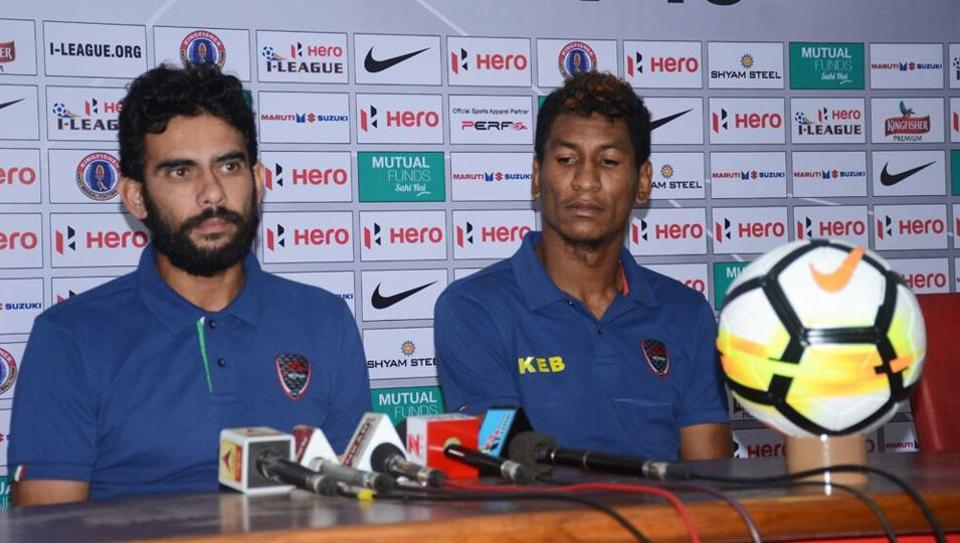 East Bengal coach Khalid Jamil (L) will look to get his sides' fourth win on the trot against Gokulam Kerala when they face off at the Salt Lake Stadium in Kolkata on Wednesday.