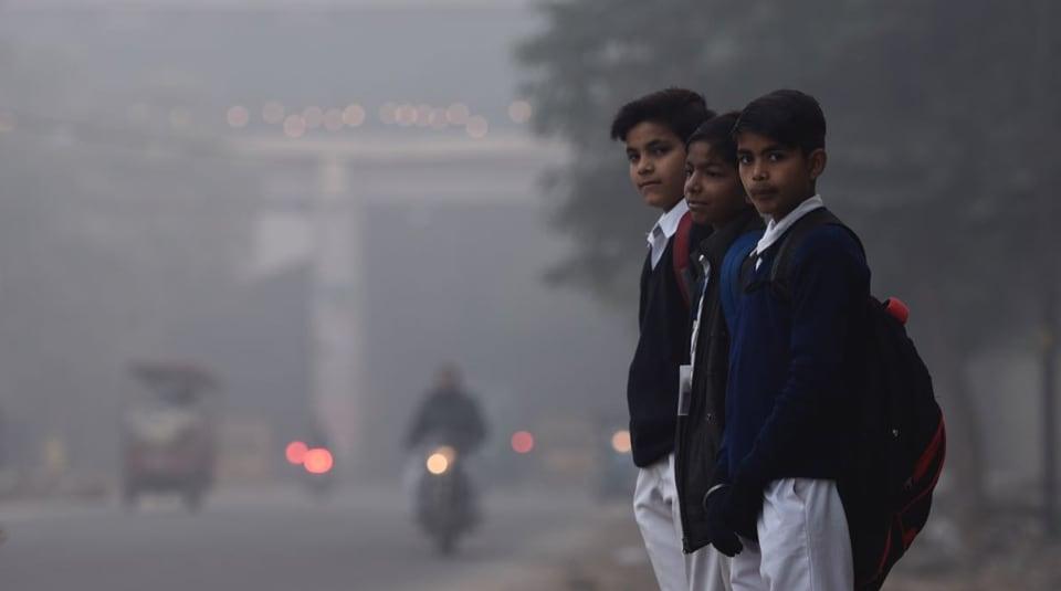 Delhi weather,Delhi pollution,Delhi winter