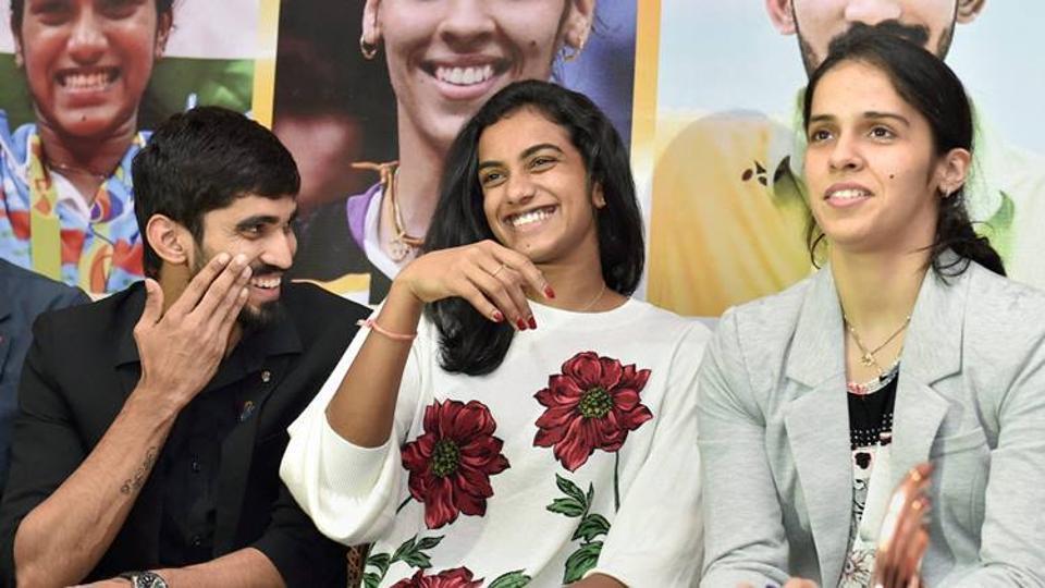 PV Sindhu,Kidambi Srikanth,Saina Nehwal