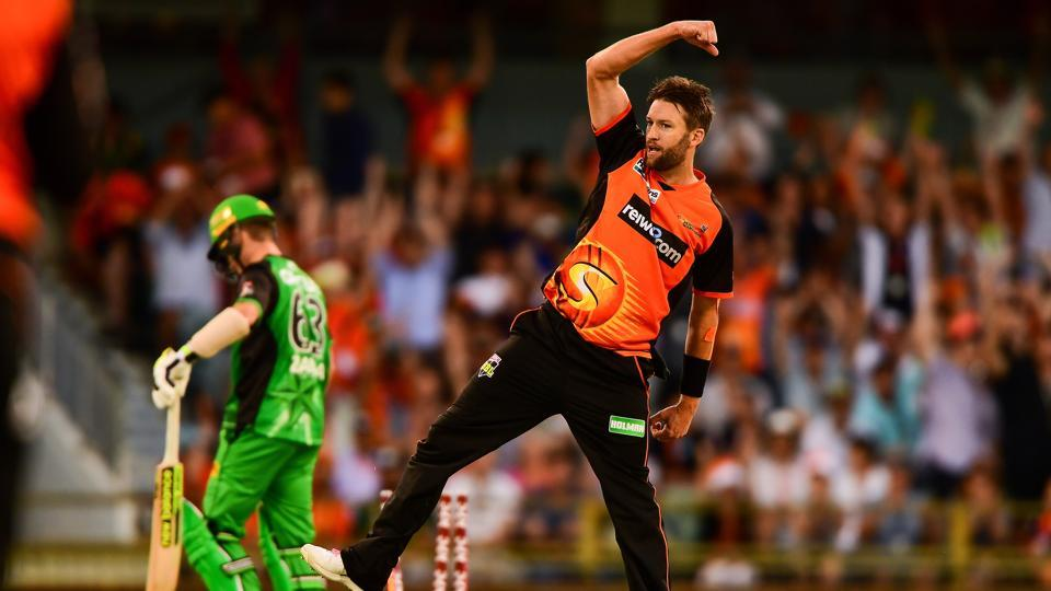 Andrew Tye picked up 5/23 as Perth Scorchers registered their second consecutive win in the Big Bash League with a 13-run win over Melbourne Stars.