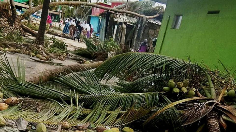 Cyclone Ockhi,Kerala,Ockhi damages