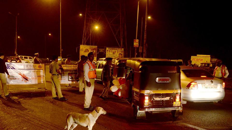 mumbai news,traffic police,new years