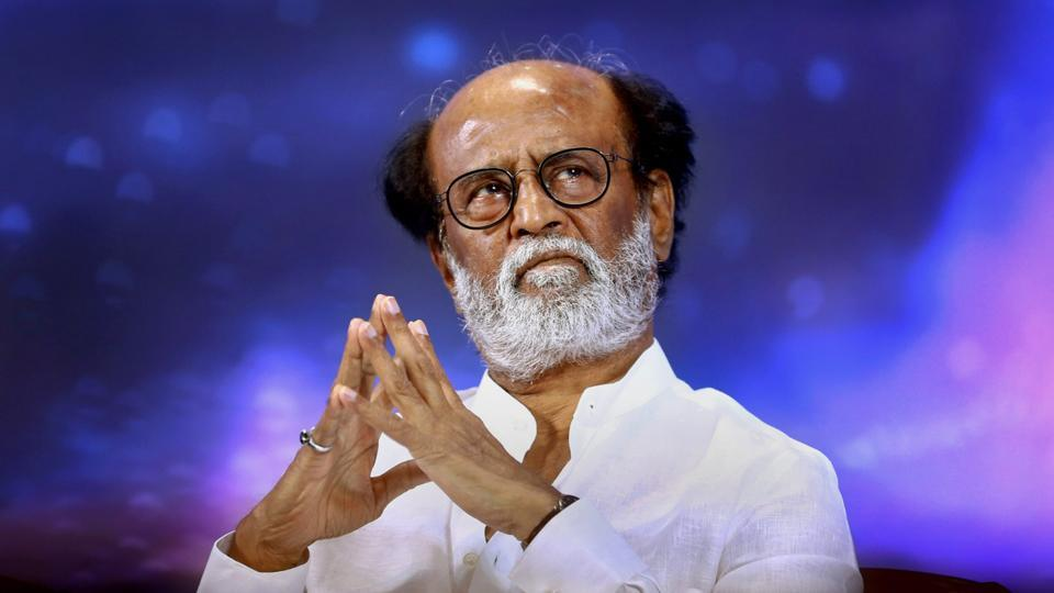 Tamil superstar Rajinikanth on the first day of a six-day-long photo session in Chennai on Tuesday.