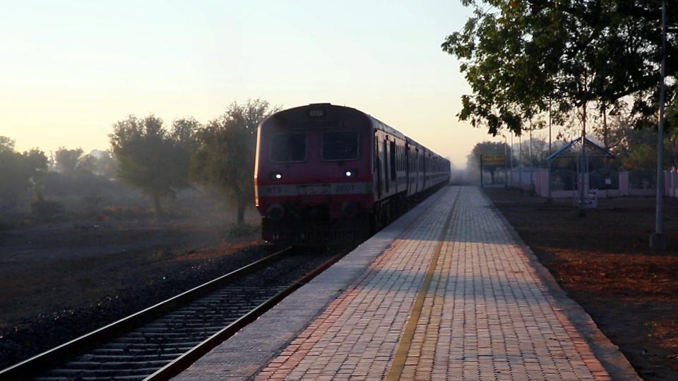 After a break of two years, the wheels are back on track at Rajasthan's Rashidpura Khori, one of the most unique railway stations in India, for it is run and maintained solely by villagers and not railway staff. A passenger train rolled and rail operations resumed after being stopped in November 2015 for work to broad gauge the track. (Himanshu Vyas / HT Photo)