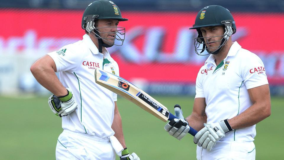 South African cricket team,Zimbabwe cricket team,Faf du Plessis