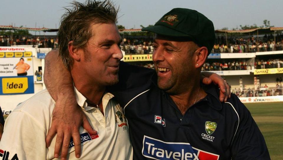 Darren Lehmann,Shane Warne,Australian cricket team