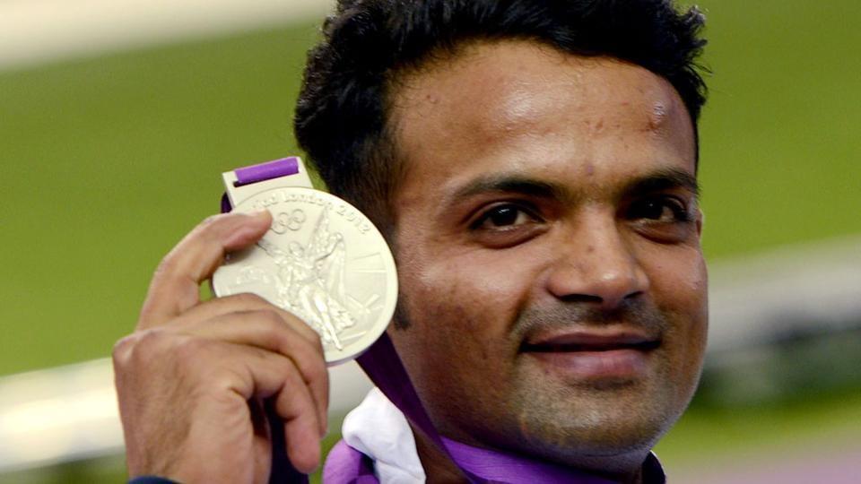 Indian shooter Vijay Kumar had won a silver medal at the 2012 London Olympics.