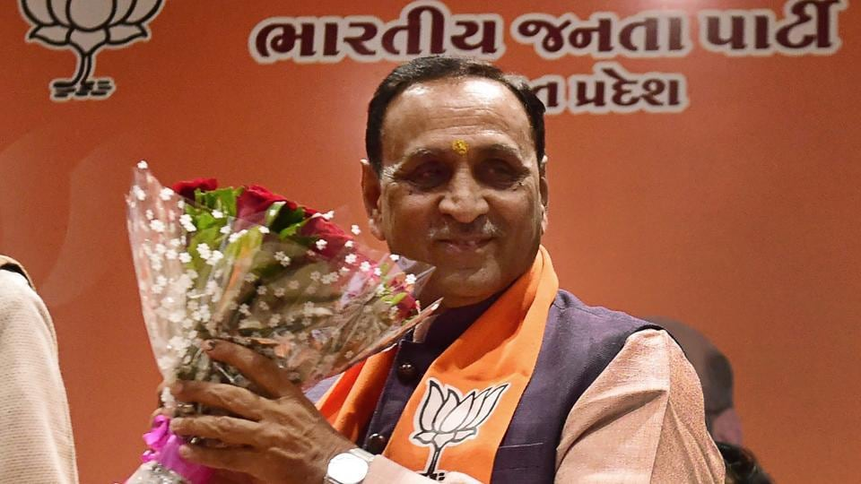 Vijay Rupani will be sworn in as the new chief minister of Gujarat on Tuesday.