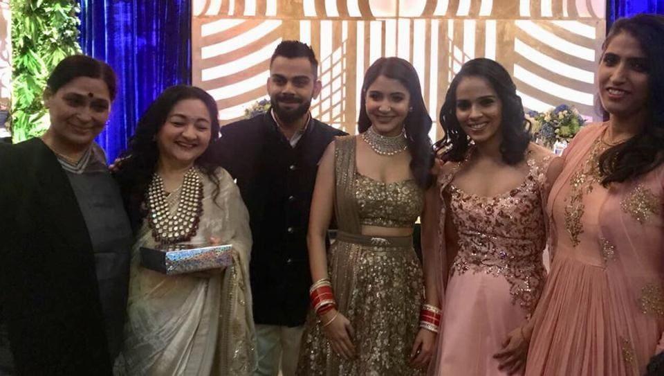 Virat Kohli And Hka Sharma S Second Reception Saw Many Bollywood Superstars Members Of The Indian