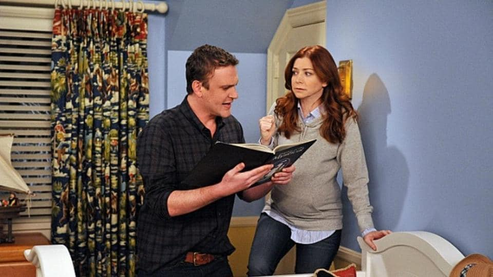 Alyson Hannigan (seen here with Jason Segel) played the role of Lily Aldrin on the sitcom, How I Met Your Mother.