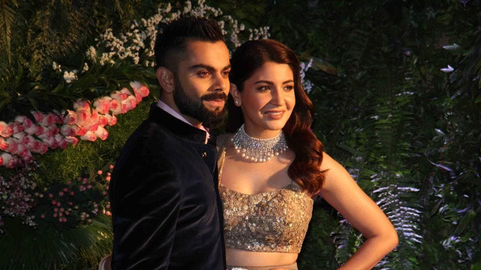 We can't get enough of Anushka Sharma and Virat Kohli looking perfectly polished and in love at their wedding reception in Mumbai on Tuesday.