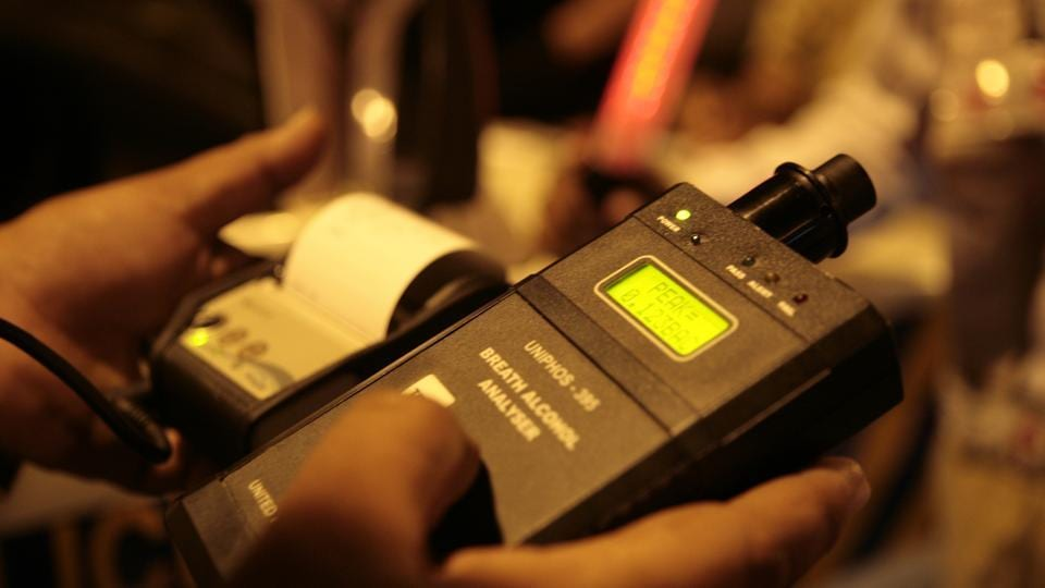 The Mumbai traffic police deployed special teams armed with upgraded breathalysers at several checkpoints to catch motorists flouting norms.