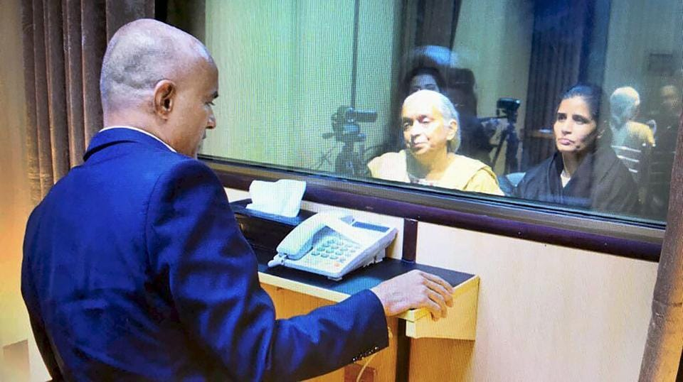 India Condemns Pakistan's Treatment of Accused Spy Kulbhushan Jadhav's Family