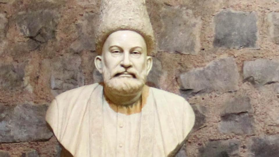Ghalib ki Haveli was the residence of the 19th century Urdu poet Mirza Ghalib and is now a heritage site located in the Gali Qasim Jan, Ballimaran, Old Delhi.