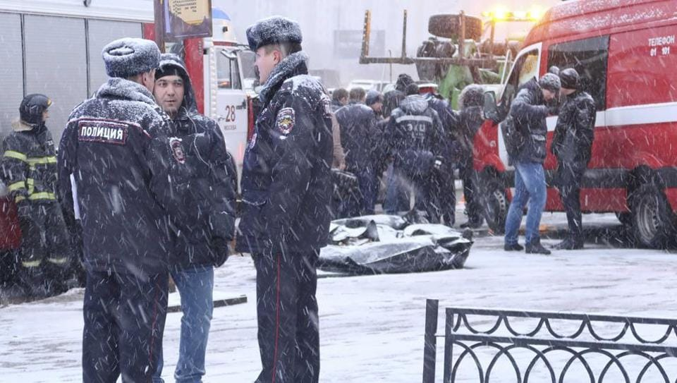 Gunman opens fire in Moscow pastry factory, killing one