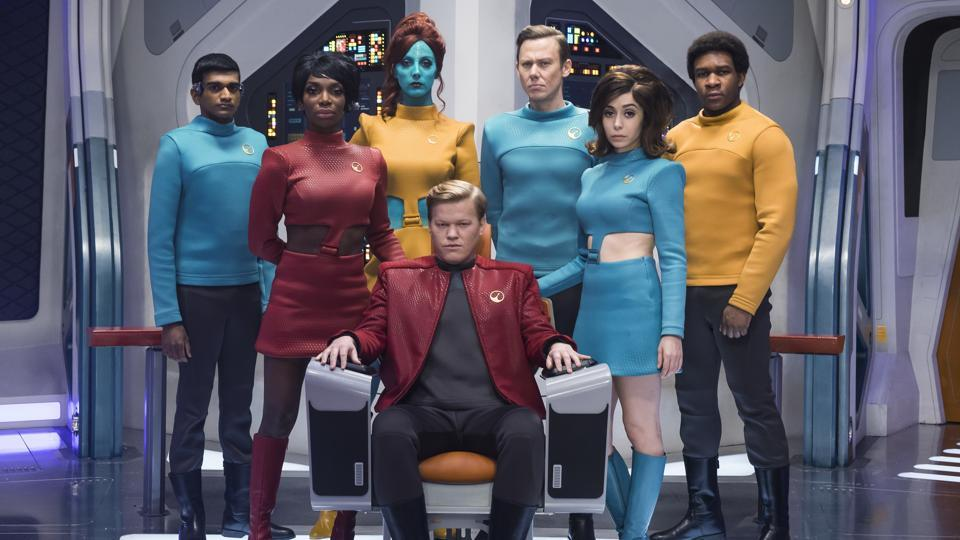 In USS Callister, Charlie Brooker attempts what has to be his most audacious experiment yet — creating a typically disdainful episode of Black Mirror as seen through the famously optimistic lens of Star Trek.