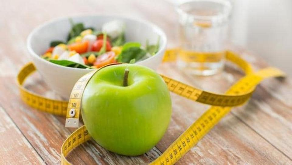 If the body weight tends to increase, a signal is sent to the brain to decrease food intake and keep the body weight constant.