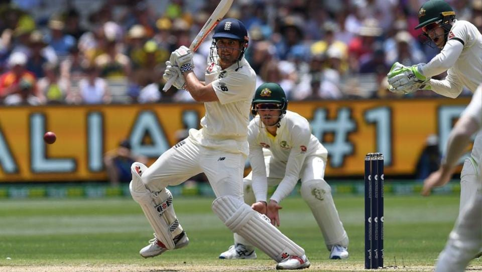 Alastair Cook's 5th double century gives England lead in 4th
