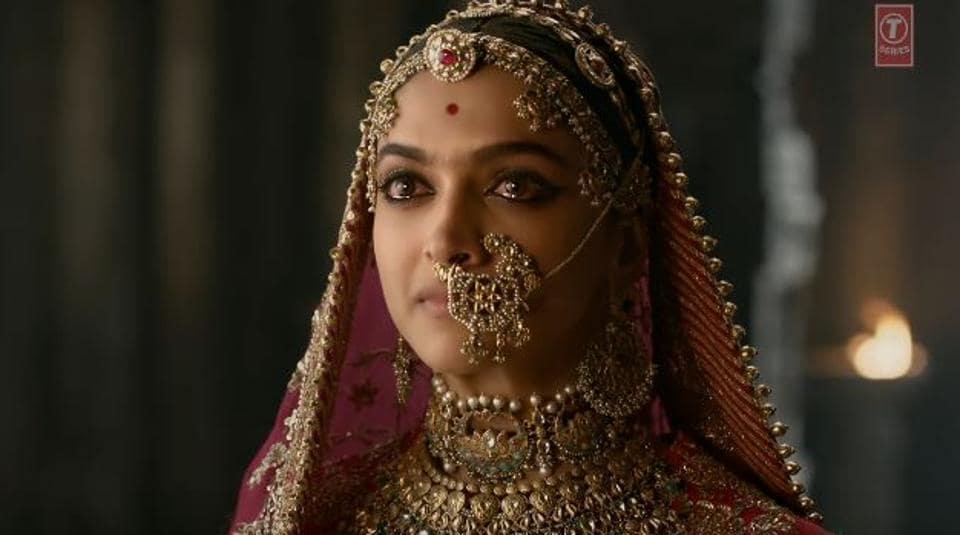 Deepika plays the titular role in Padmavati.