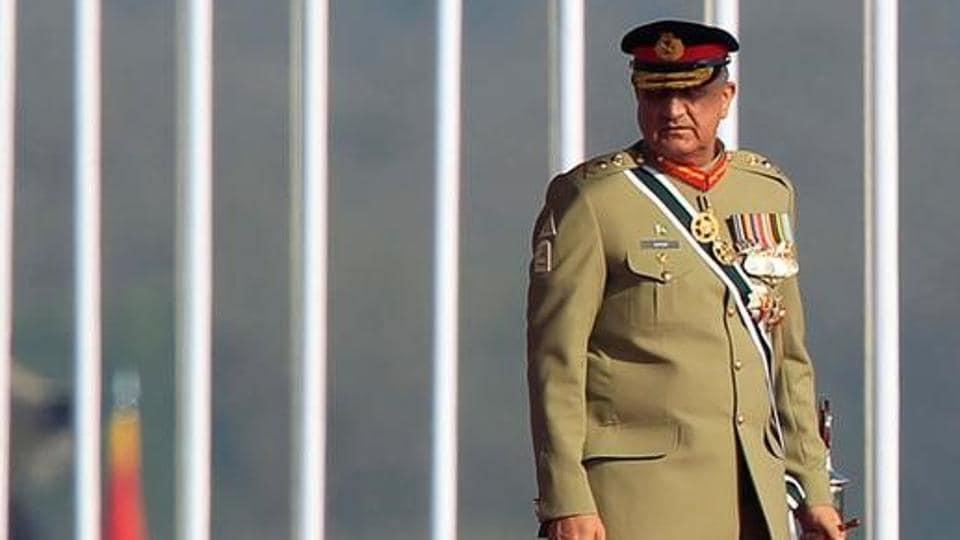 Pakistan's Army Chief of Staff Lieutenant General Qamar Javed Bajwa in Islamabad, Pakistan, March 23, 2017.