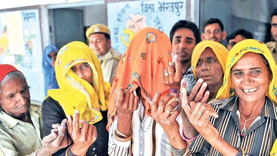 In Rajasthan, Congress leaders say the local body polls show the BJP has lost support, a claim denied by the ruling party.