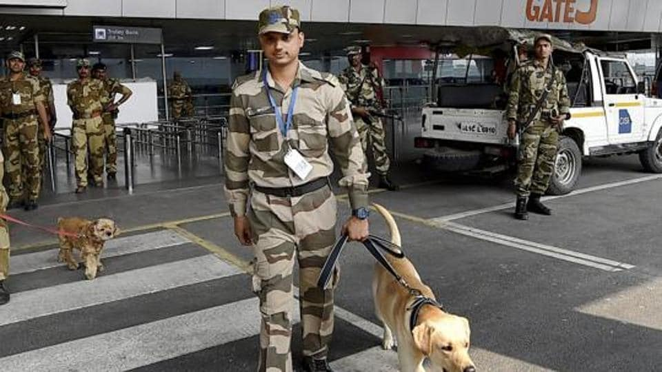 A team of the CISF, the Delhi Police and the aviation security had rushed to the spot. Flight operations resumed only after the authorities finished inspecting the area around the airport and no such object was found.