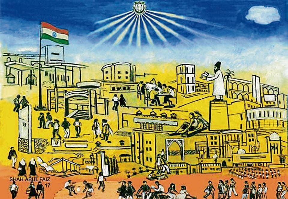 Jamia students to paint mural at Metro station to depict