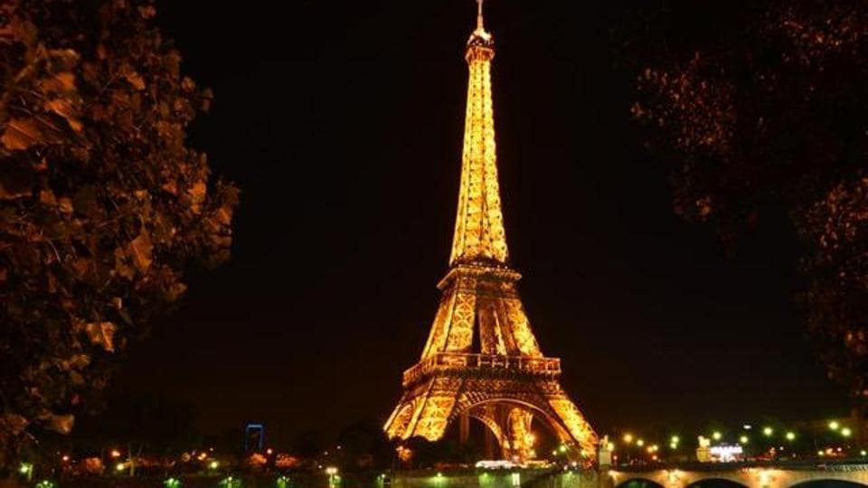 You can sip on champagne on top of the Eiffel Tower.