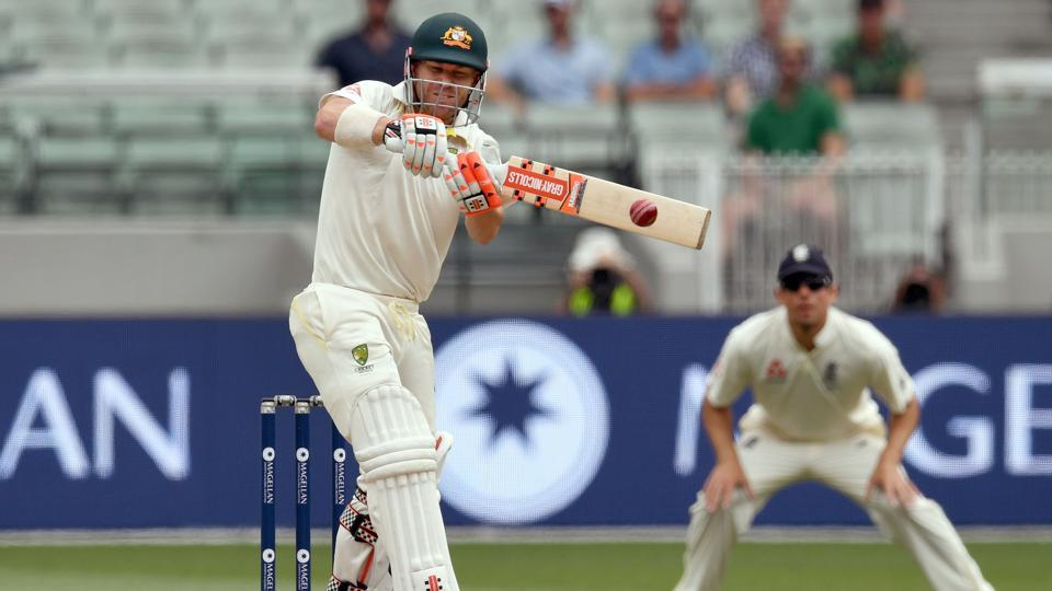 David Warner and Steve Smith held firm as Australia ended day 4 on 103/2, trailing by 61 runs as persistent rain forced stumps.Get full cricket score of Australia vs England, fourth Ashes Test here.