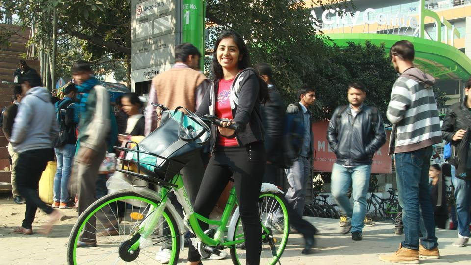 Gurgoanites are happy to get an environment-friendly and economical means of last-mile connectivity via bicycles.