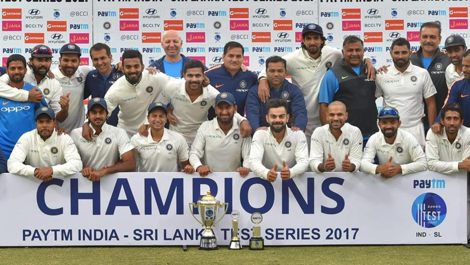 The Virat Kohli-led Indian cricket team had a marvellous year and ended 2017 as the world No.1 team.