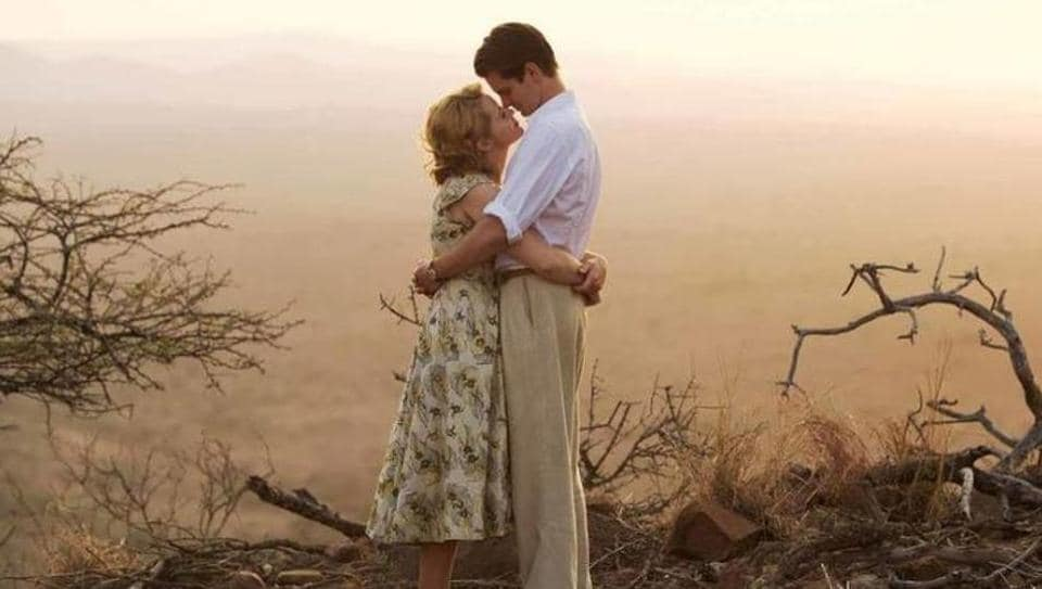 Andrew Garfield and Claire Foy in a still from Breathe.