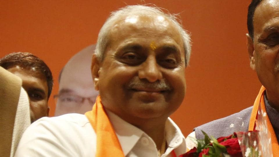 Amid reports of Nitin Patel being miffed, the Congress said the BJP has had a history of sidelining powerful Patidar leaders.