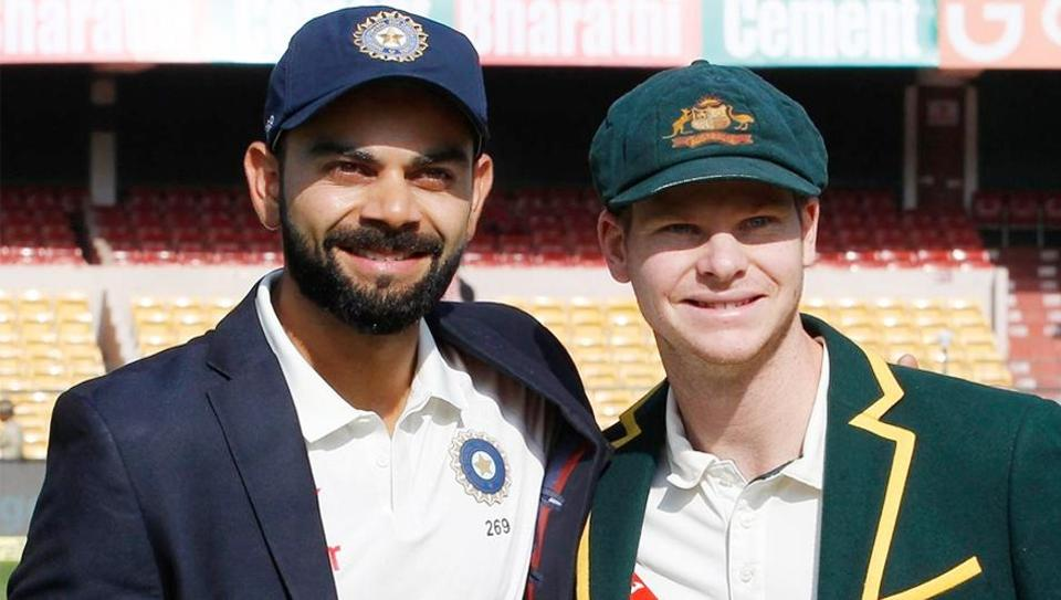 Steve Smith (R) was the highest run-getter in 2017, closely followed by Indian cricket team skipper Virat Kohli.