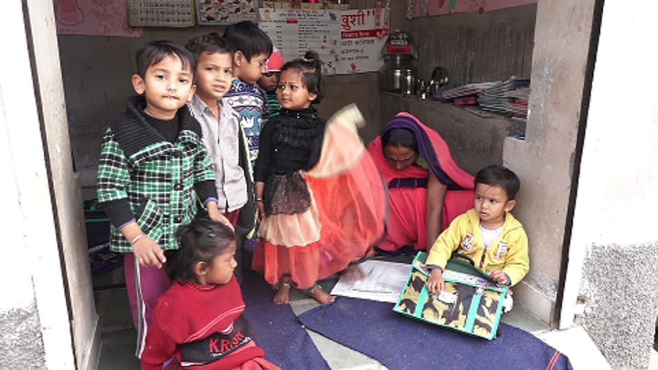 An anganwadi centre in Rajasthan's Ajmer south.