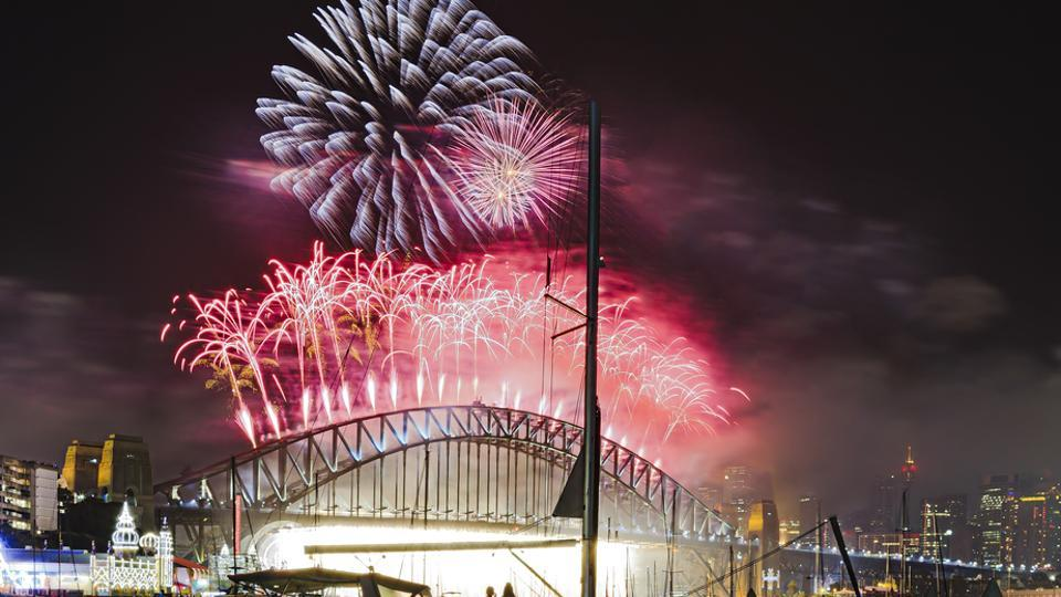 Hollywood heart-throb Hugh Jackman will add star power with a 20-second gold-and-silver pyrotechnics set, fulfilling a lifelong dream to design a firework for his home town.