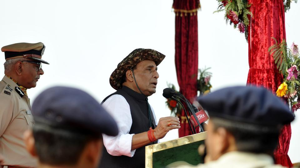 itbp troopsrajnath singhindo tibetan border police home minister rajnath singh will celebrate the new year