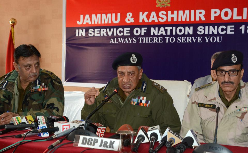 206 militants killed in J&K in 2017: DGP