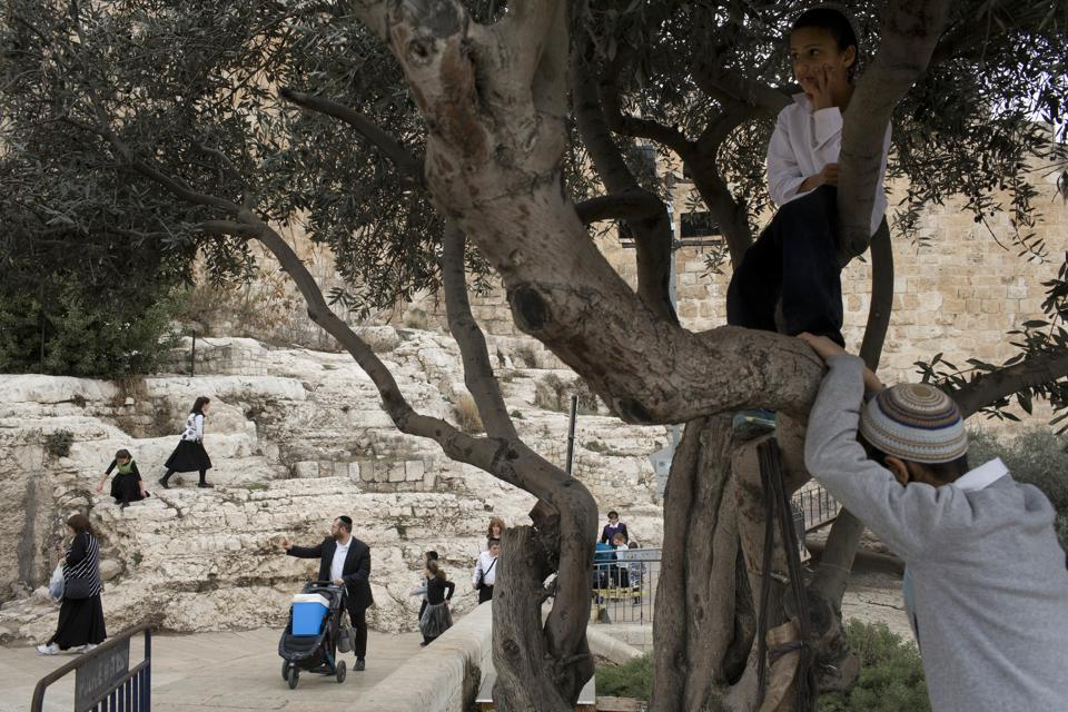 Over the course of its tumultuous 3,000-year history, Jerusalem's Old City has had many masters, from the ancient Persians and Babylonians all the way up to the modern states of Jordan and Israel. There have been almost as many walls, some torn down by wars or earthquakes. (Oded Balilty / AP)