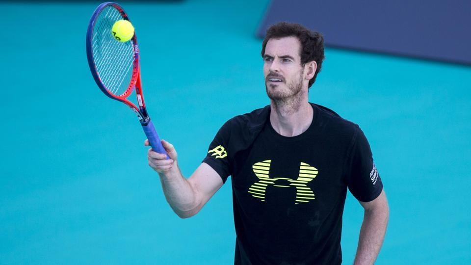 Andy Murray was ranked number one for 41 weeks before a hip injury and loss in form sidelined him for five months.