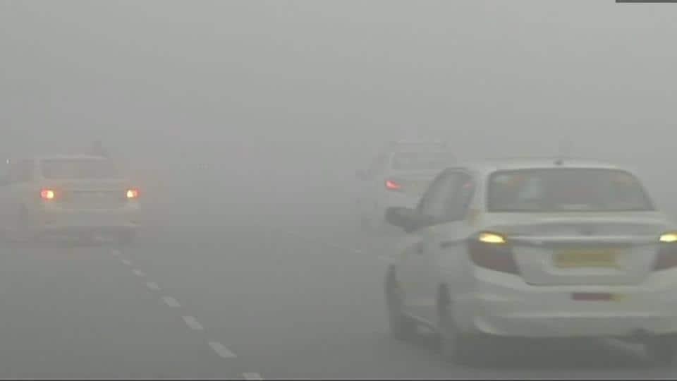 New Year,Fog,Chandigarh fog