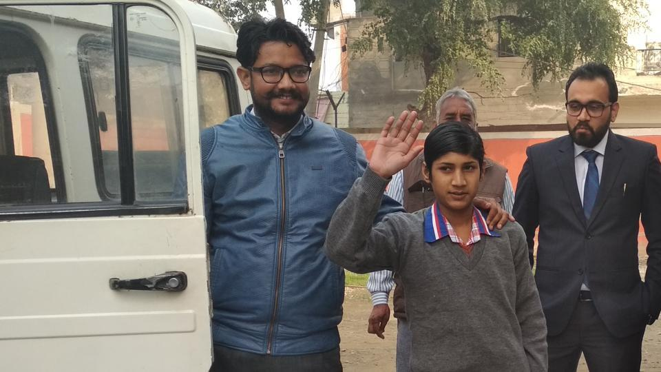 Hasnain has been staying at the children observation home in Faridkot for the last eight months.