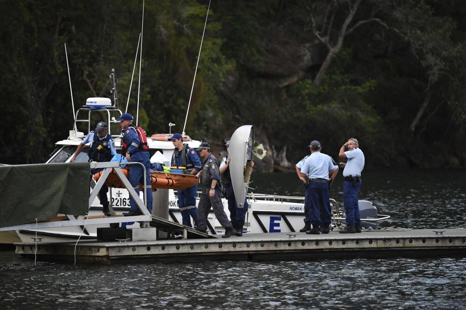 Australia,Seaplane Crash,Richard Cousins