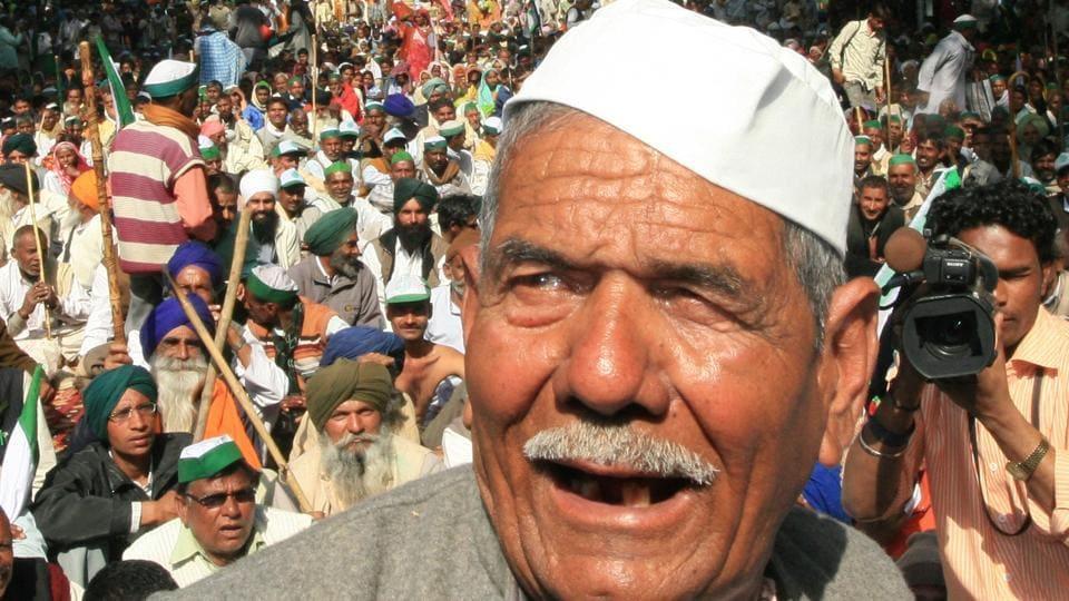 Farmer politicians,Mahendra Singh Tikait,Minimum Support Prices