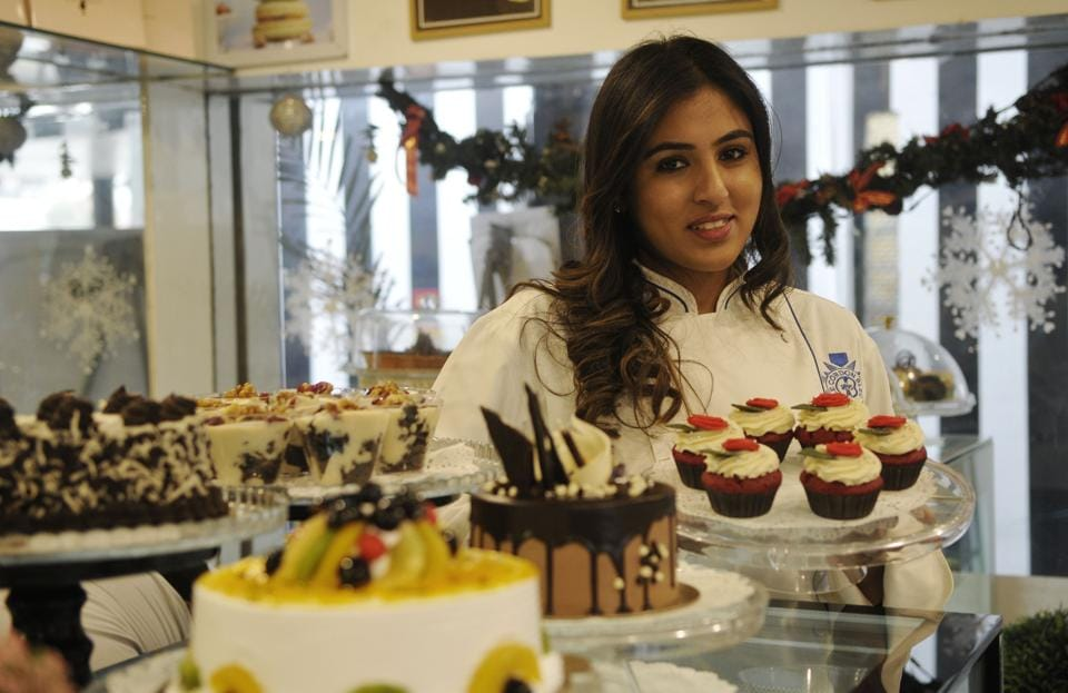 Chef Gayatri Sood of Monica's at Sector 8 Chandigarh.