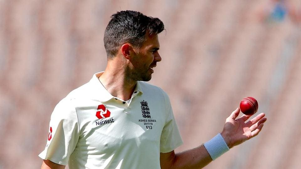James Anderson was accused of ball tampering during the Ashes Test against Australia in Melbourne but was cleared of any wrongdoing.